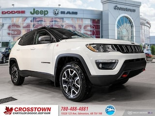 New 2020 Jeep Compass Trailhawk Trailhawk 4x4 3C4NJDDBXLT109014 for sale near you in Edmonton, AB