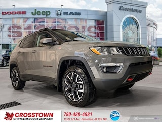 New 2020 Jeep Compass Trailhawk Trailhawk 4x4 3C4NJDDB4LT108991 for sale near you in Edmonton, AB