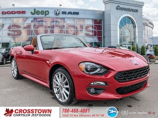 New 2019 FIAT 124 Spider Lusso Convertible JC1NFAEK4K0141528 for sale near you in Edmonton, AB