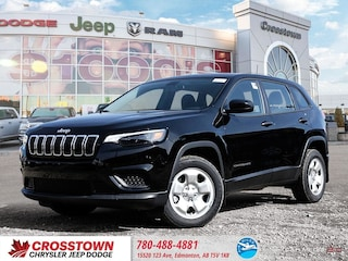New 2019 Jeep Cherokee Sport Sport FWD 1C4PJLAB6KD357241 for sale near you in Edmonton, AB