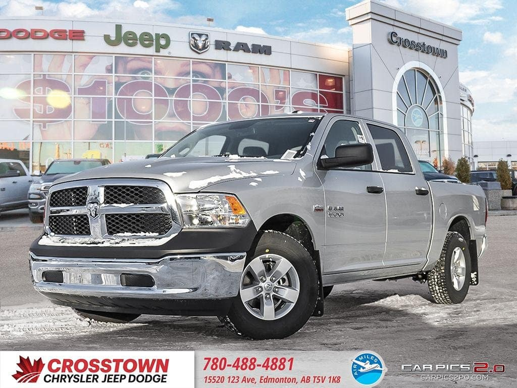 Featured New 2018 Ram 1500 SXT Truck Crew Cab for sale near you in Edmonton, AB