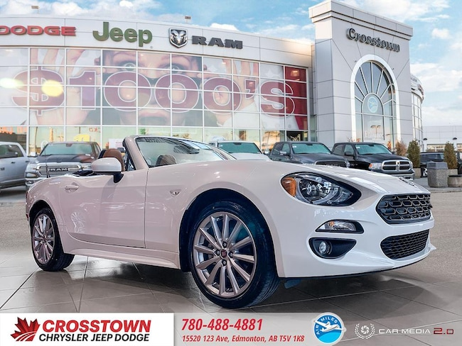 New 2019 FIAT 124 Spider Lusso Convertible in Edmonton, AB