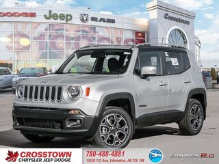 New 2018 Jeep Renegade Limited SUV ZACCJBDB7JPH79197 for sale near you in Edmonton, AB