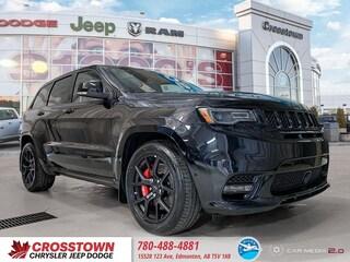New 2019 Jeep Grand Cherokee SRT SRT 4x4 1C4RJFDJ8KC587396 for sale near you in Edmonton, AB