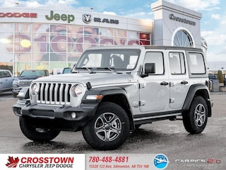 New 2018 Jeep All-New Wrangler Unlimited Sport S SUV 1C4HJXDG3JW125945 for sale near you in Edmonton, AB