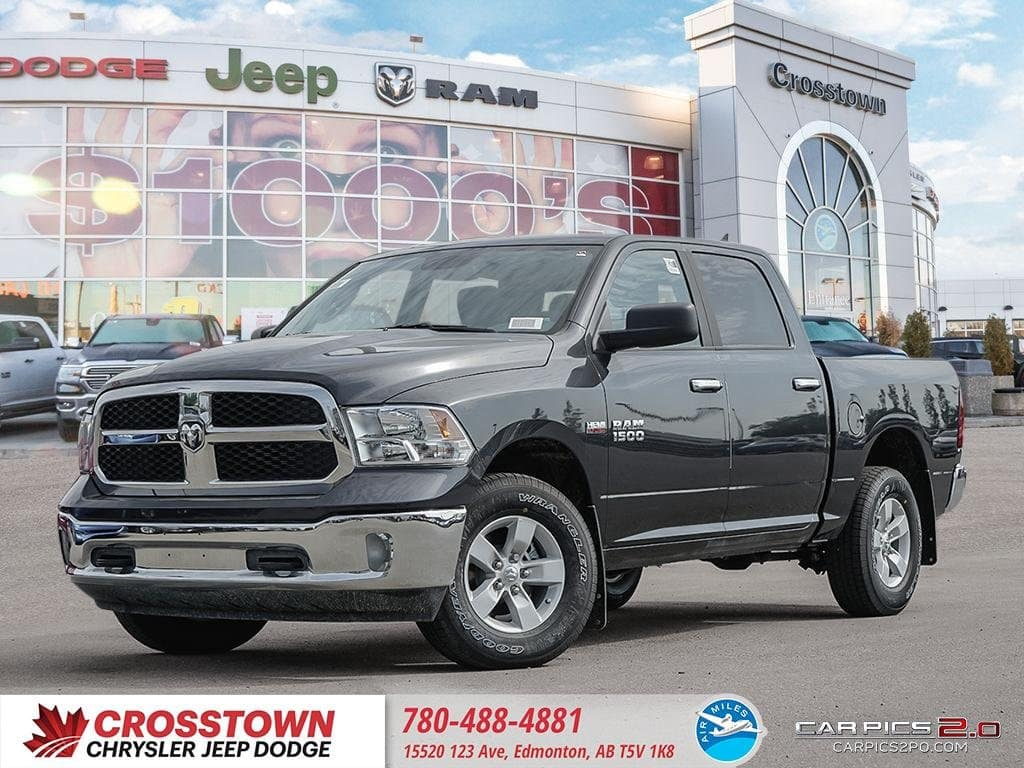 Featured New 2018 Ram 1500 SLT Truck Crew Cab for sale near you in Edmonton, AB