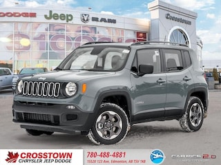 New 2018 Jeep Renegade Sport SUV ZACCJBAB4JPJ40972 for sale near you in Edmonton, AB
