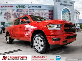 New 2020 Ram 1500 Big Horn Big Horn 4x4 Crew Cab 57 Box 20RC6419 for sale in Edmonton, AB
