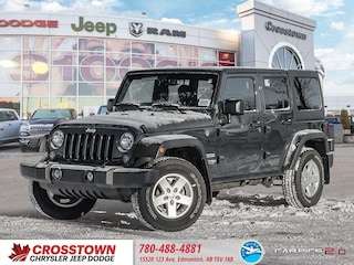 New 2018 Jeep Wrangler JK Unlimited Sport S SUV 1C4BJWDG7JL863863 for sale near you in Edmonton, AB