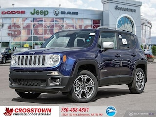 New 2018 Jeep Renegade Limited Limited 4x4 ZACCJBDB2JPH60895 for sale near you in Edmonton, AB