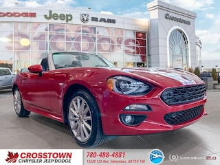 New 2019 FIAT 124 Spider Lusso Convertible JC1NFAEK9K0141430 for sale near you in Edmonton, AB