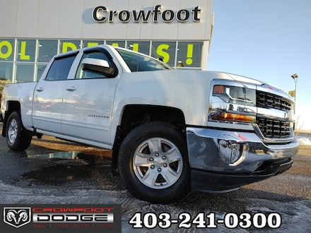 Featured used 2016 Chevrolet Silverado 1500 LT AUTOMATIC 4X4 Truck Crew Cab for sale in Calgary, AB