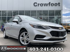 Used 2018 Chevrolet Cruze LT WITH BACK-UP CAM AUTO Sedan 1G1BE5SM1J7145847 for sale in Calgary, Alberta