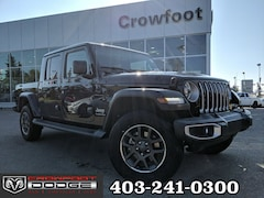New 2020 Jeep Gladiator Overland Truck Crew Cab 1C6HJTFG1LL114217 for sale in Calgary, AB
