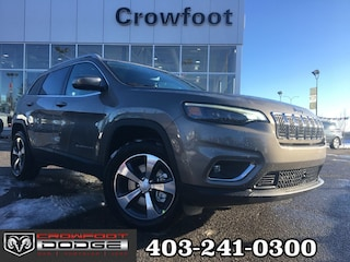 New 2020 Jeep Cherokee Limited SUV 1C4PJMDX2LD549495 near Airdrie, AB