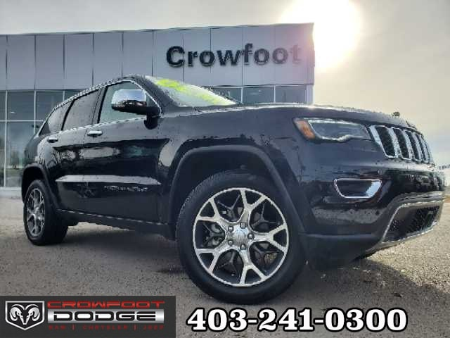 Featured used 2020 Jeep Grand Cherokee Limited 4X4 SUV for sale in Calgary, AB