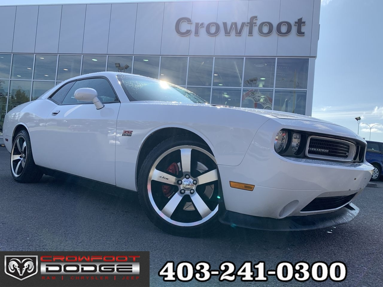 2011 Dodge Challenger SRT8 AUTOMATIC WITH LEATHER & NAV Coupe