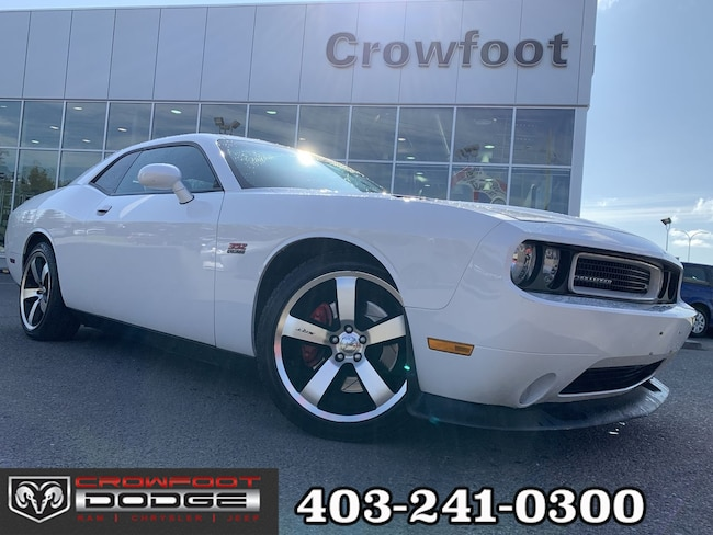 Used 2011 Dodge Challenger SRT8 AUTOMATIC WITH LEATHER & NAV Coupe Calgary, AB