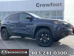 New 2019 Jeep New Cherokee Trailhawk SUV 1C4PJMBX4KD483498 for sale in Calgary, AB