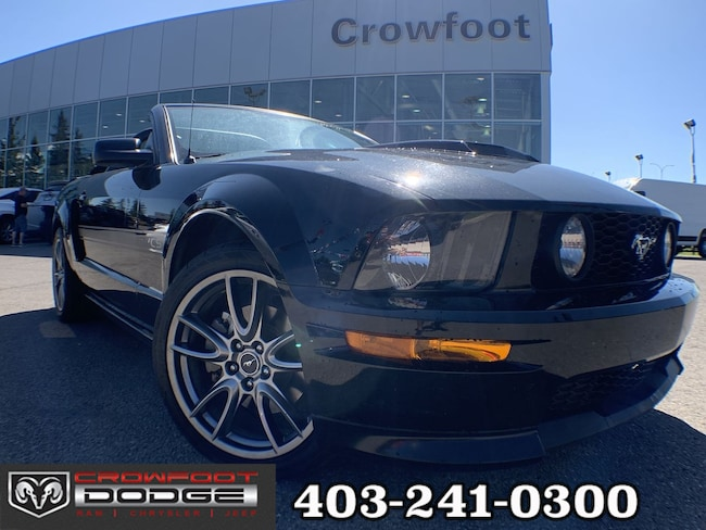 Used 2007 Ford Mustang GT CONVERTIBLE Convertible Calgary, AB