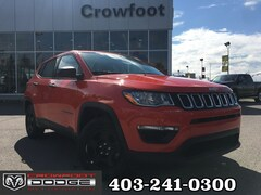 Used 2019 Jeep Compass SPORT SUV 3C4NJCAB0KT652644 for sale in Calgary, Alberta