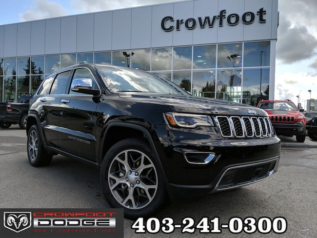 New 2019 Jeep Grand Cherokee Limited SUV Calgary, AB