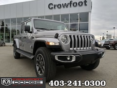 New 2020 Jeep Gladiator Overland Truck Crew Cab 1C6HJTFG7LL154477 for sale in Calgary, AB