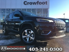 New 2020 Jeep Cherokee Limited SUV 1C4PJMDX9LD558405 for sale in Calgary, AB