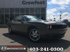Used 2017 Dodge Challenger SXT WITH NAV, LEATHER & SUNROOF Coupe 2C3CDZAG5HH619268 for sale in Calgary, Alberta