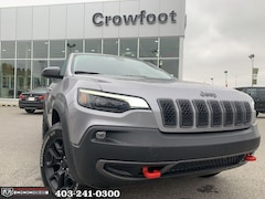 New 2020 Jeep Cherokee Trailhawk SUV for sale in Calgary, AB