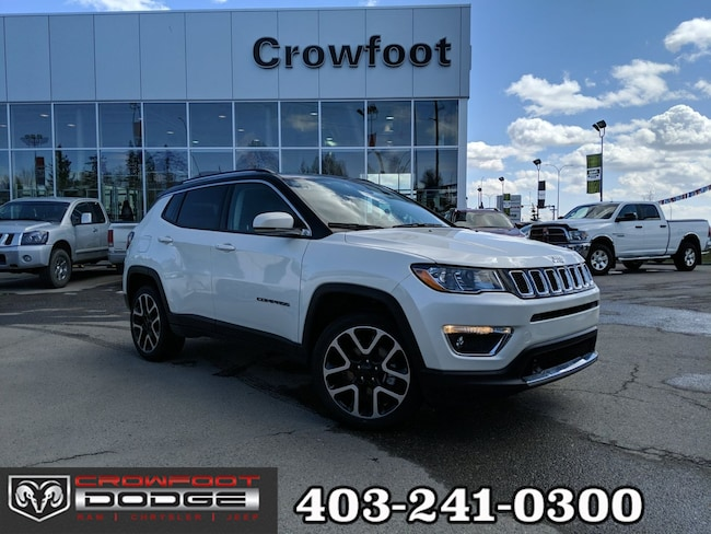 New 2019 Jeep Compass Limited SUV Calgary, AB