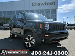 New 2019 Jeep Renegade Trailhawk SUV ZACNJBC10KPK44986 for sale in Calgary, AB