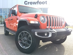 New 2020 Jeep Gladiator Overland Truck Crew Cab 1C6HJTFG2LL154483 for sale in Calgary, AB