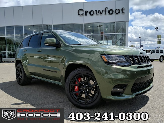 New 2019 Jeep Grand Cherokee SRT 'BLOW OUT' SUV Calgary, AB