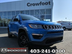 New 2020 Jeep Compass Sport SUV 3C4NJCAB1LT102127 for sale in Calgary, AB