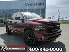 New 2019 Ram 1500 Classic Express Truck Quad Cab 1C6RR7FT4KS648642 for sale in Calgary, AB