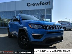 New 2020 Jeep Compass Sport SUV for sale in Calgary, AB