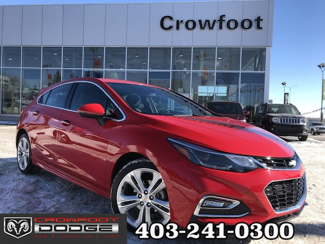 Used 2018 Chevrolet Cruze PREMIER WITH SUNROOF AUTOMATIC HATCHBACK Hatchback Calgary, AB