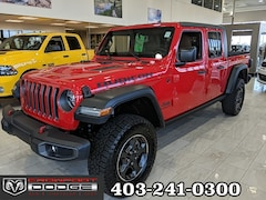 New 2020 Jeep Gladiator Rubicon Truck Crew Cab 1C6JJTBG9LL112478 for sale in Calgary, AB