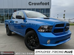 New 2019 Ram 1500 Classic Express Hydro Blue Truck Crew Cab for sale in Calgary, AB