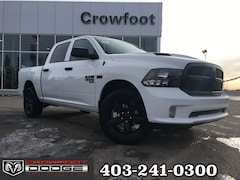 New 2019 Ram 1500 Classic Express Truck Crew Cab 1C6RR7KT7KS743525 for sale in Calgary, AB
