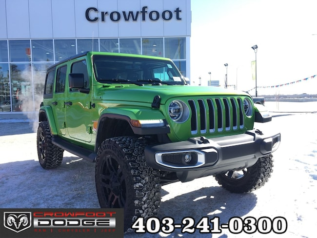 New 2019 Jeep Wrangler Unlimited Sahara SUV Calgary, AB