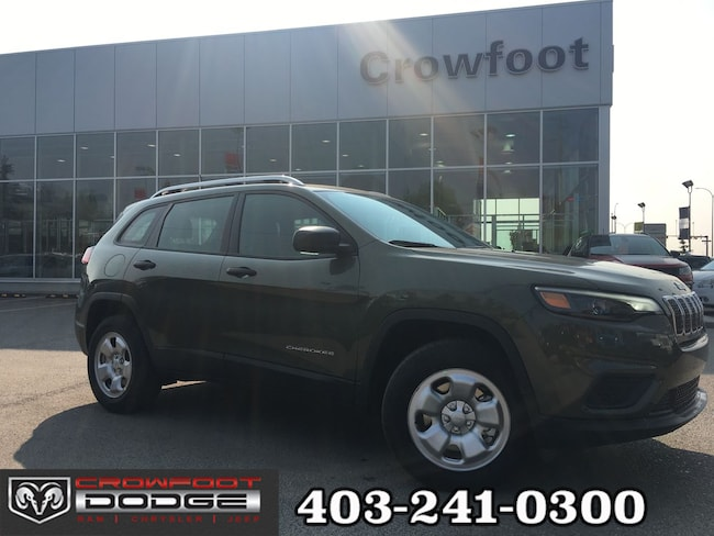 New 2019 Jeep New Cherokee Sport SUV Calgary, AB