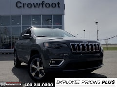 New 2020 Jeep Cherokee Limited SUV for sale in Calgary, AB