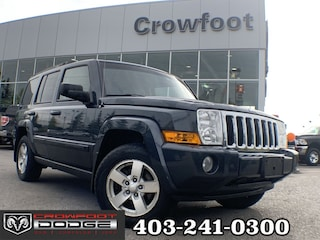 Clearance 2008 Jeep Commander SPORT WITH LEATHER 4X4 SUV for sale in Calgary, AB