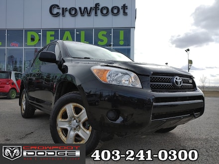 Featured used 2008 Toyota RAV4 V6 WITH ALLOY WHEELS AWD SUV for sale in Calgary, AB