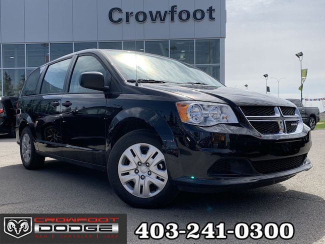 Used 2018 Dodge Grand Caravan CANADA VALUE PACKAGE Van Calgary, AB