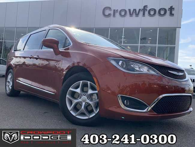 Used 2018 Chrysler Pacifica TOURING-L PLUS WITH DUAL DVD Van Calgary, AB