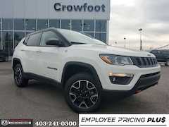 New 2020 Jeep Compass Trailhawk SUV for sale in Calgary, AB