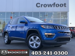 Used 2018 Jeep Compass NORTH WITH COLD WEATHER GROUP 4X4 SUV 3C4NJDBB6JT412839 for sale in Calgary, Alberta